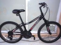 "RALEIGH MTN SCOUT, 24"" mountain bicycle. Front"