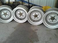 these are early 70's western wheels. the auto parts