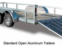 Aluminum trailer. Continental Cargo made by Forest