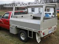 Aluminum truck rack for full size bed Comes with hooks