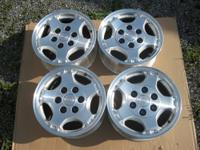 I have original factory aluminum Chevy Wheels. They are