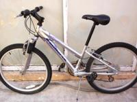 "ALUMINUM MOUNTAIN BIKE, FRONT SUSPENSION, ""IRON HORSE"