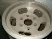 MUST SELL Set of 4 -15 inch 6 lug aluminum wheels with