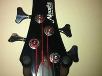 I have a Alvarez 4 string Bass Guitar dragon blood red,