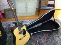 **Alvarez Acoustic/Electric Guitar - Model RD20CU