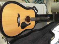 I am selling a Alvarez acoustic guitar and its matching