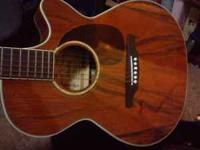 I am selling my Alvarez AF60CK Acoustic Electric
