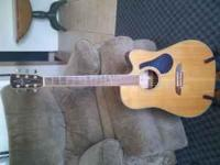 I have an Alvarez Electric/Acoustic Guitar for sale. It