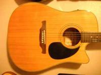 I am selling an Alvarez RD 30 SC N acoustic electric