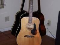 Alvarez RD8 acoustic guitar. Low action nice playing