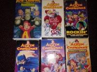 I have 6 used Alvin and the Chipmunks VHS tapes for