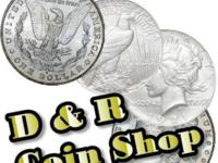 Always buying and selling gold and silver @ D & R Coin