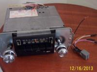 AM/FM shaft type radio with casette player $ 65, 2
