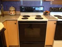 Amana Electric Freestanding Range Color: Black and