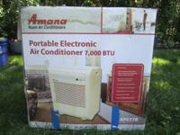 Do not sweat it-- this portable ac unit goes where you