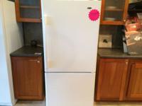 Amana White Bottom Mount Refrigerator - NEW Model: