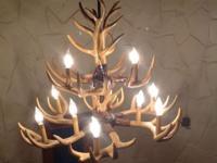 Beautiful 3 tier Chandelier with Deer