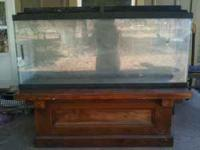 This is a 53 or 55 gallon aquarium. It comes with a