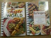 Cookbooks for sale! Two types! BBQ Cookbook and Tatse
