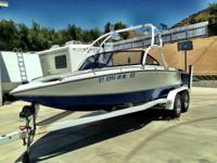 1993 Ski Centurion Falcon. Low hours with all the