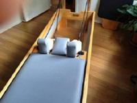 Life time warranty from Balanced Body. The reformer