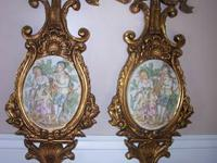 Large Vintage Original Arnart 3D wall plaques. These