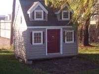 REAL HOUSE IN MINIATURE!! Shingled roof, steel entrance
