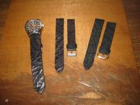 Authentic shark skin leather watch straps. Including an