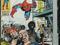 "AMAZING SPIDER-MAN# 99 August 1971 Bronze Age ""A Day in"