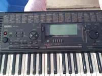 Yamaha keyboard with stand sounds amazing 130 obo Its