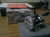 Abu Garcia Ambassadeur 6500 series fishing reel new in