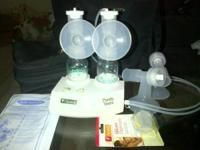 I am selling an Ameda Double Electric Breast Pump. I