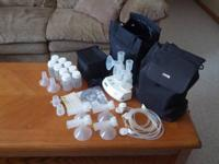 Simply Yours Breast Pump and all accessories for sale.