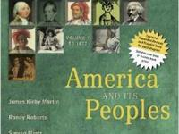 America and its Peoples  Fifth Edition  James Martin,