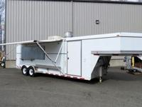 "Fully Loaded Concessions Trailer 72"" x 78"" Rear Loading"