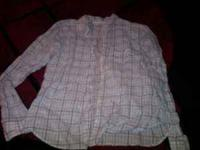 american eagle long sleeve sheer shirt $1 call