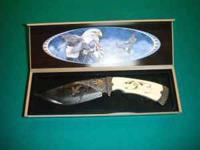 i have a american eagle colectores knife has a ivory