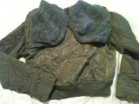 Like new American Eagle winter coat/jacket. Army green