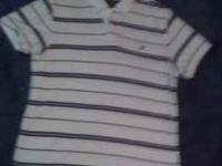 Up for sale are two American Eagle polo shirts. One is