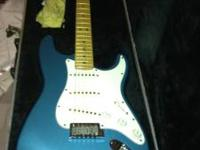 1995 Lake Placid Blue, matching headstock Limited