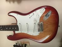 I have for sale my Sienna sunburst American Standard