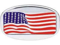 American Flag Hitch Cover. Made by Bully. New in