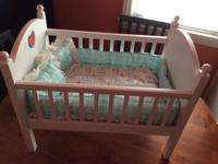 AMERICAN GIRL The Pleasant Company, Bitty Baby Bed,