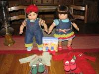 Bitty twins Girl and Boy in excellent condition. Comes