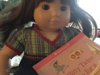 American girl bitty Twin dolls with clothes, shoes and