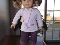 Just Like You American Girl Doll lightly used for 60$