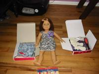 I am selling the American girl doll Emily and the book
