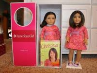 RETIRED AMERICAN GIRL DOLL CHRISSA BRAND NEW IN BOX. NO