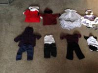 Each American Girl Doll outfit is $10 each or if you