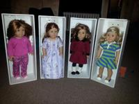 American Girl Dolls extremely great condition child